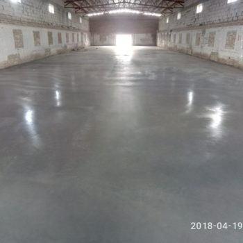 Зміцнені бетонні підлоги з топінгом
