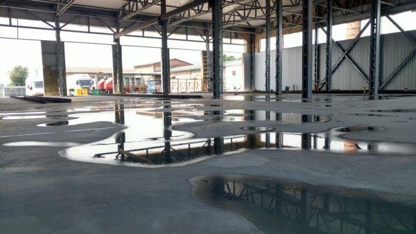 Заливка бетонної підлоги