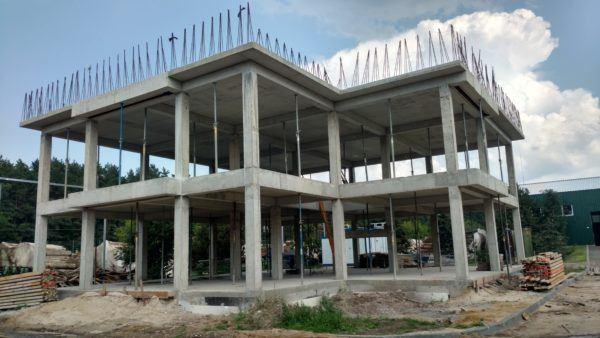 Будівництво офісної будівлі