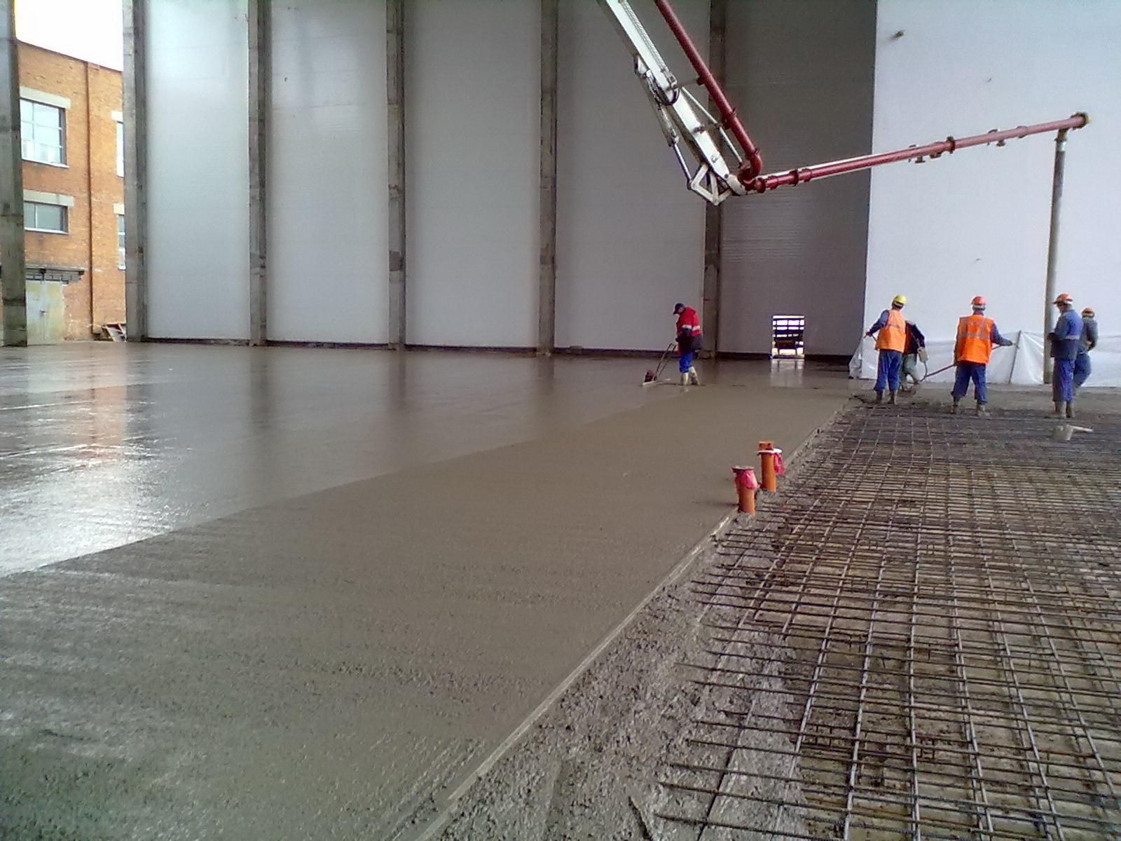 Бетонна стяжка підлоги