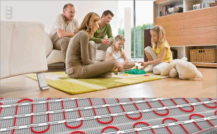 електропідігрів підлоги ціна
