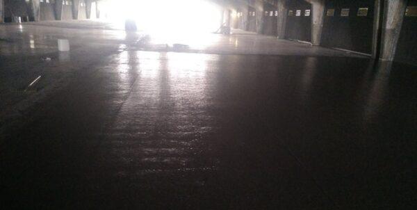 Полимер-цементное покрытие пола. Видео 2, 3, 4