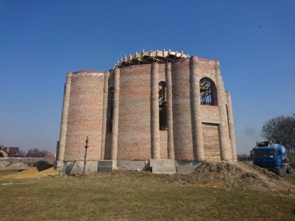 Строительство культового сооружения